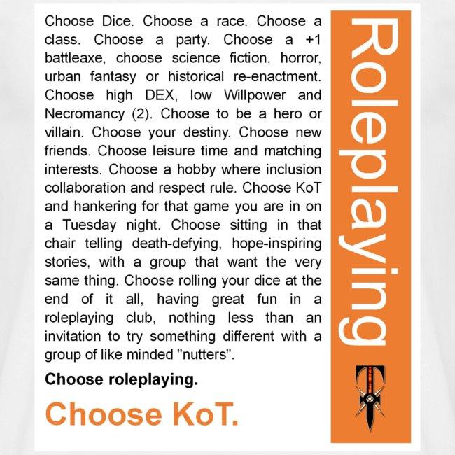 Choose KoT Tee