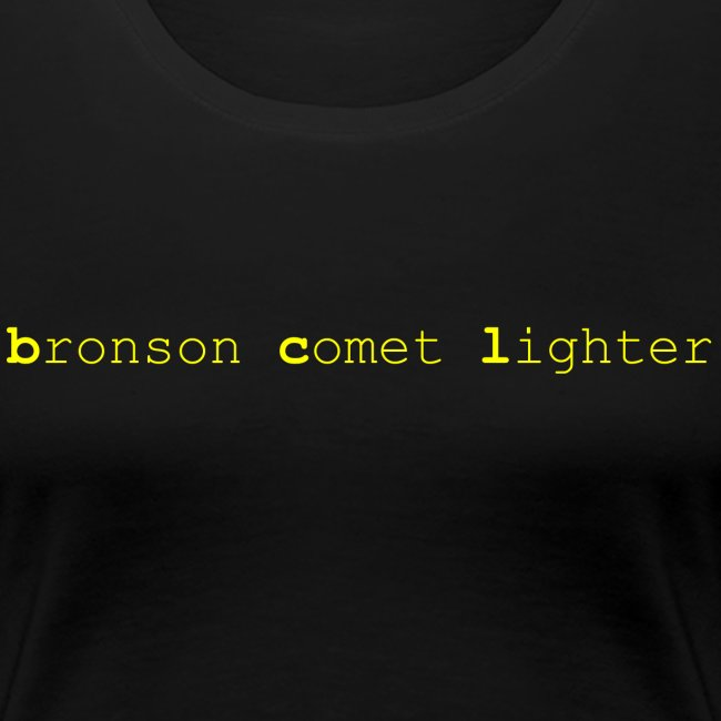 bronson comet lighter female t-shirt