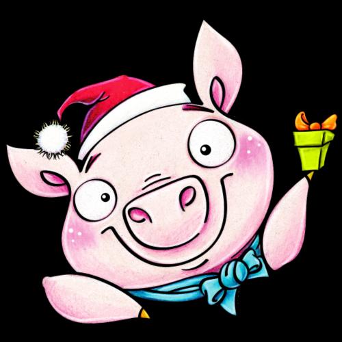 little christmas piggy