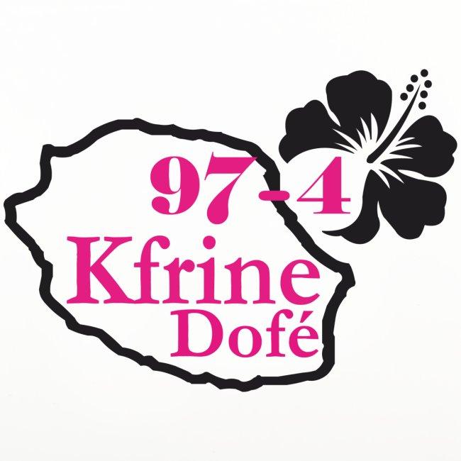 Dessous de verre (lot de 4) 974 Kfrine dofé