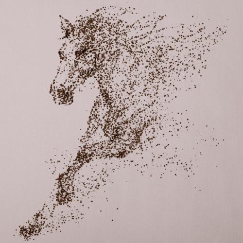 Pixel Horse brown