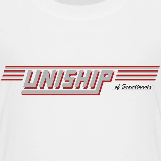 T-shirt Premium barn, Uniship (dubbelsidig)