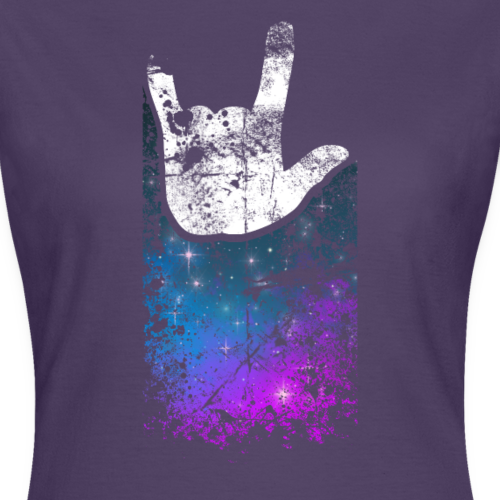 ILY Handsign Galaxy