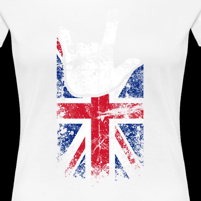 ILY Großbritannien Handsign
