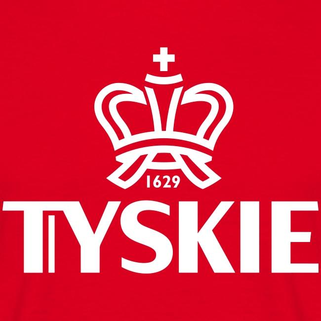 Tyskie Logo plain (rot/Männer)