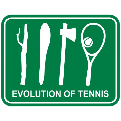 Evolution of Tennis  Tennisschläger