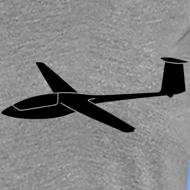 Segelflieger T-Shirt Segelflugzeug PIK20