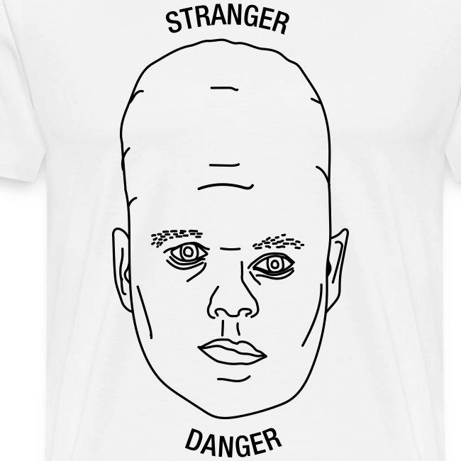 Stranger tee white