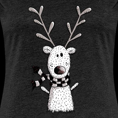 Drôle de renne en hiver - Cadeau - Comique