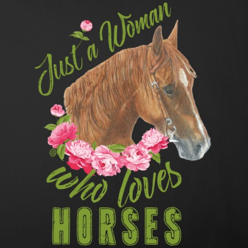 Just a woman - Horse