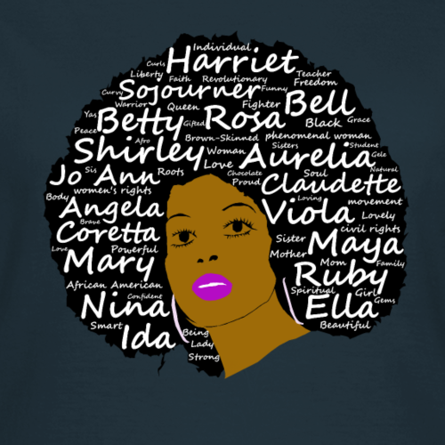 Black History Month Powerful Women in Natural Hair