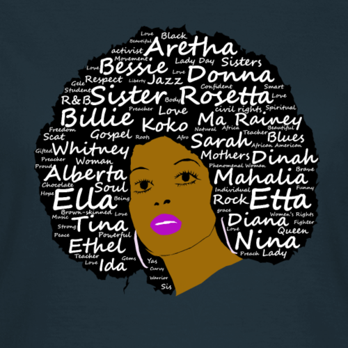 Black History Month Powerful Singers Natural Hair