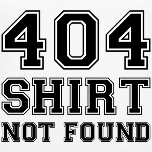 404 shirt not found