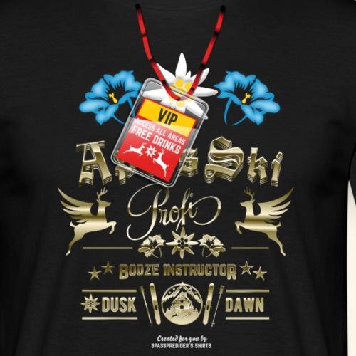 Apres Ski T Shirt Apres Ski Profi Booze Instructor