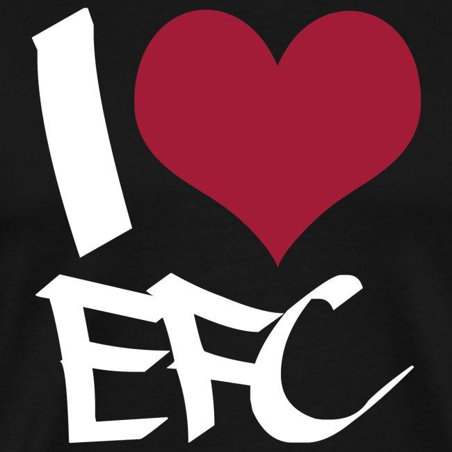 """T-Shirt Männer """"I love EFC"""""""