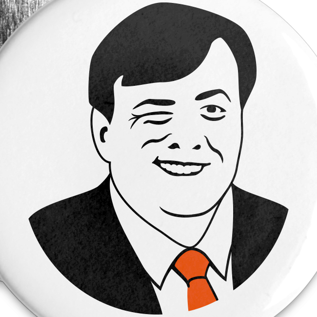 Koning Knipoog Buttons