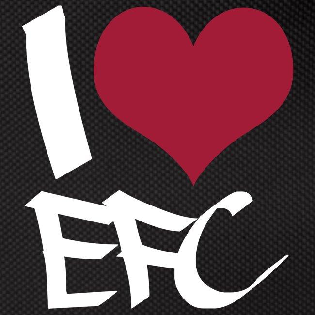"""Gürteltasche """"I love EFC"""""""