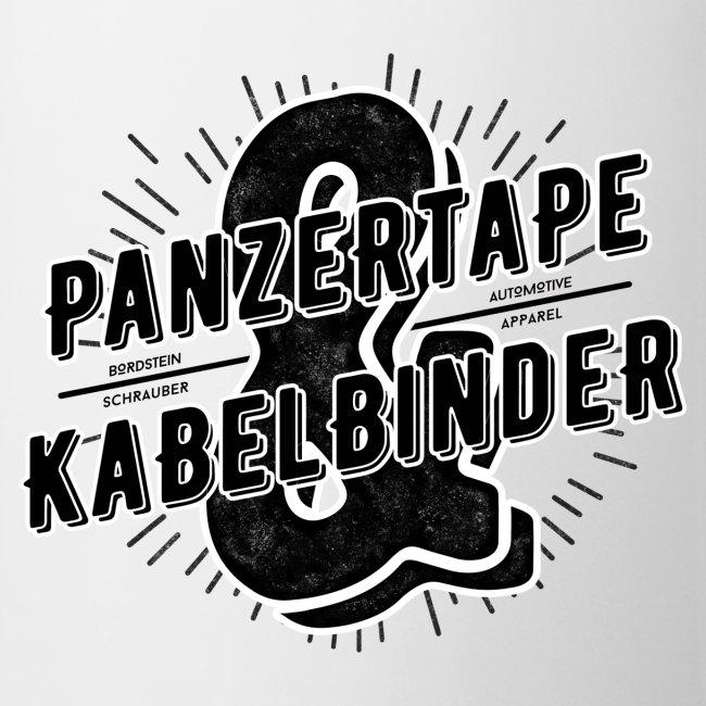 "BRDSTN Tasse ""Panzertape & Kabelbinder"""