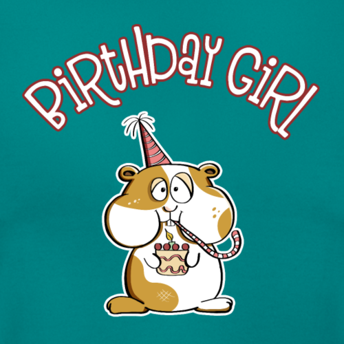 Birthday Girl Party hamster - Anniversaire