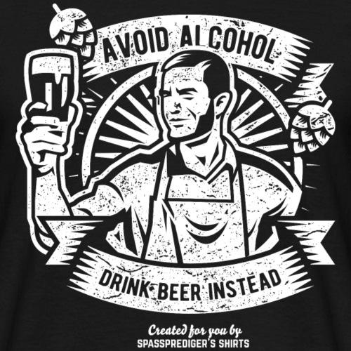 Bier T Shirt Beer Instead | witziger Bier Spruch