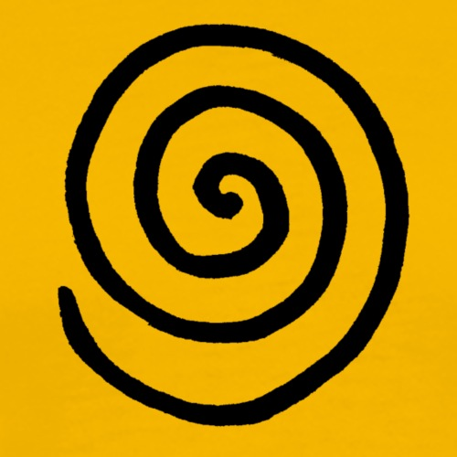 Spirale (schwarz)