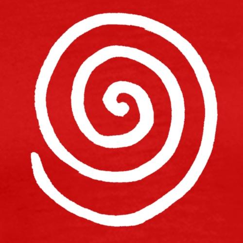 Spirale (weiss)