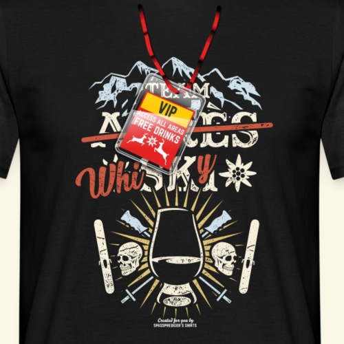 Apres Ski T Shirt  Team Whisky