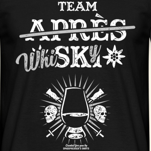 Apres Ski T Shirt Whisky