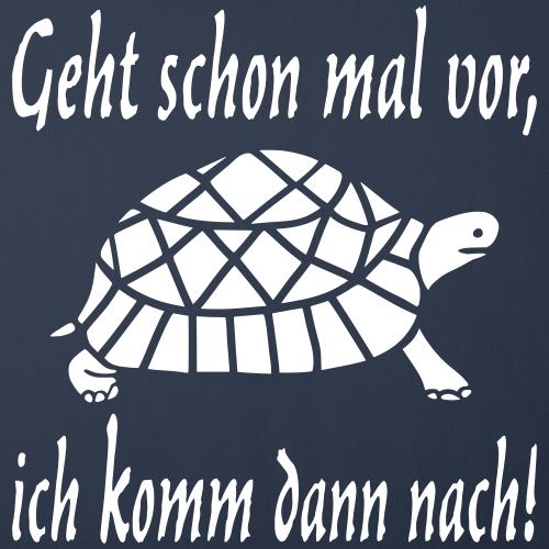 Lustiger Sport Langsam Schildkröte Spruch