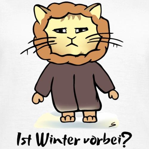 Winter Katze - Ist Winter vorbei?