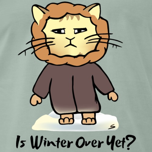 Winter Katze - Ist Winter Over Yet?