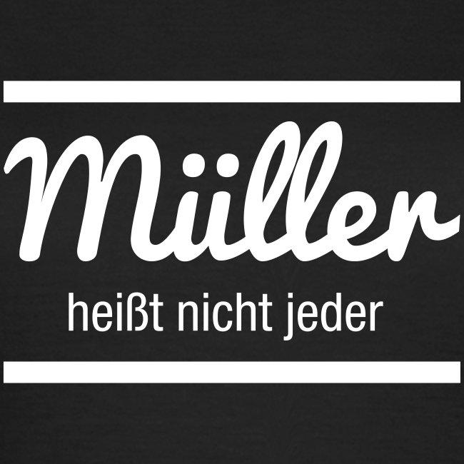 Müller Namensschild
