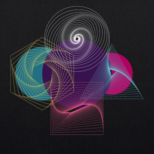 Futuristische Geometrie