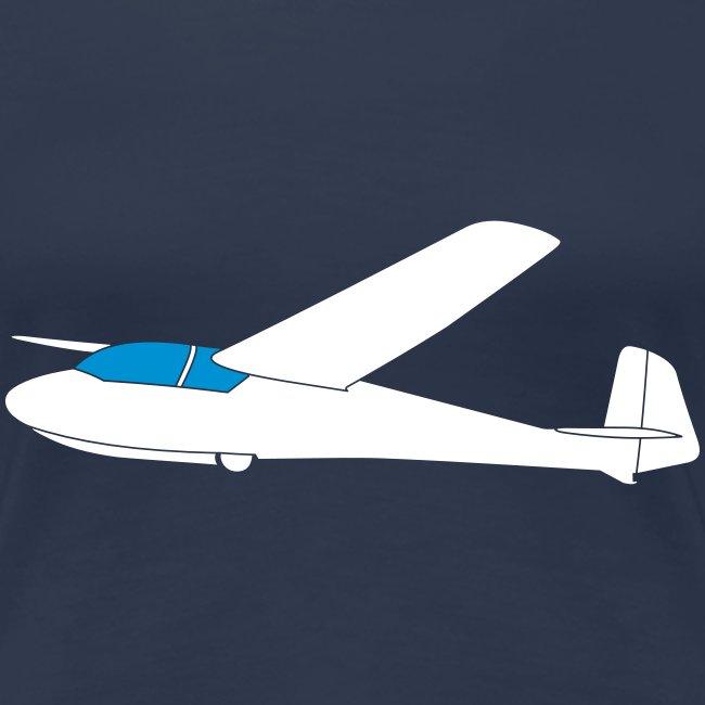 ka2 Segelflugzeug Segelflieger Flieschen Bekleidung Shop T-Shirt Geschenkidee