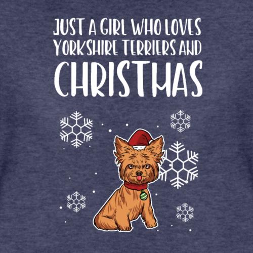 Yorkshire Terrier Yorkie Doggy Christmas Girl Gift
