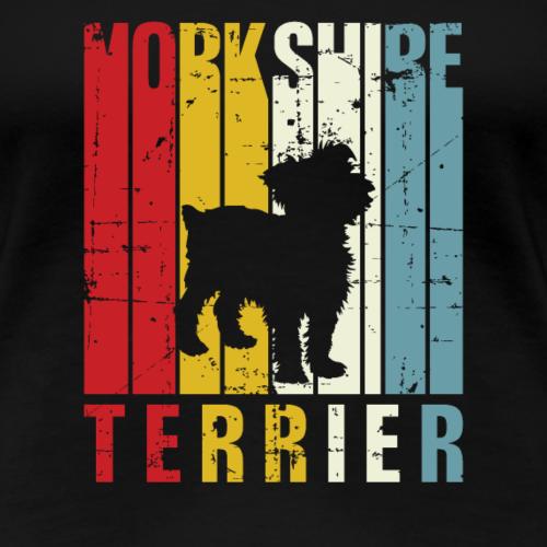 Yorkie Yorkshire Terrier rétro propriétaire idée cadeau années 70