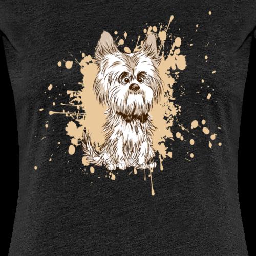 Yorkie Cartoon Cartoon Yorkshire Terrier Cadeau Cadeau