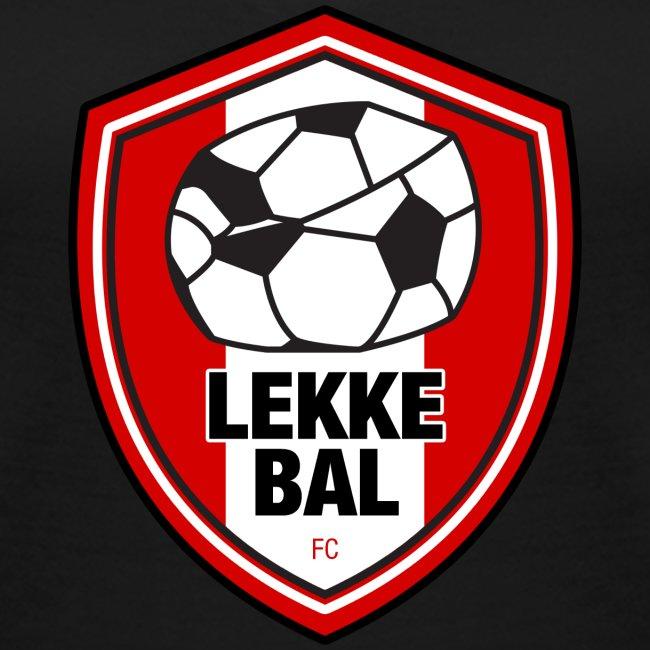 Lekke Bal FC vrouwen v-hals bio