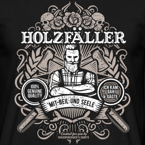 Holzfäller T Shirt