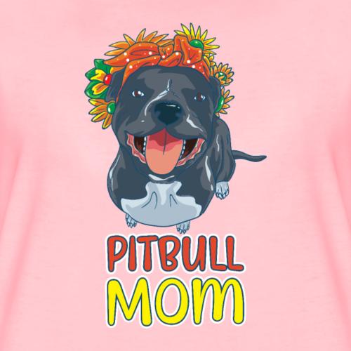 Pit Mommy Cute Pitbull Mom Cadeau de propriétaire de chien Pit Bull