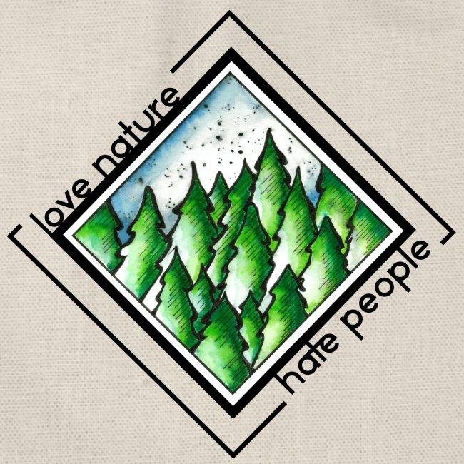 Turnbeutel - Love nature