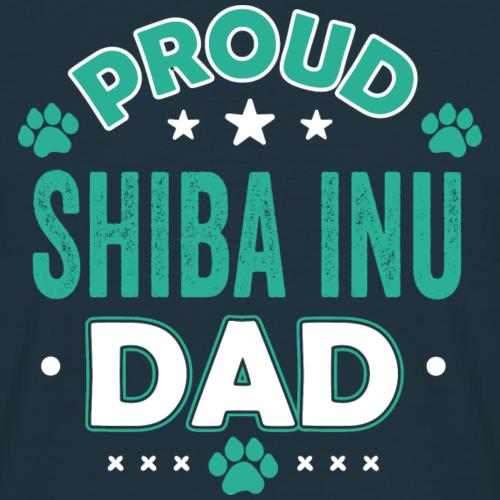 Cadeau de paroles de chemise père père chiot Shiba Inu