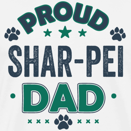 Cadeau de chien Funny Shar Pei Dad Dog Funny