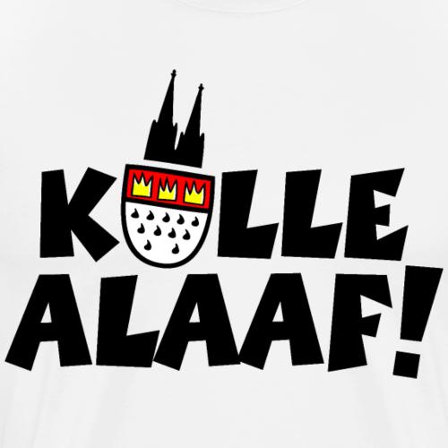 Kölle Alaaf Karneval in Köln mit Wappen und Dom