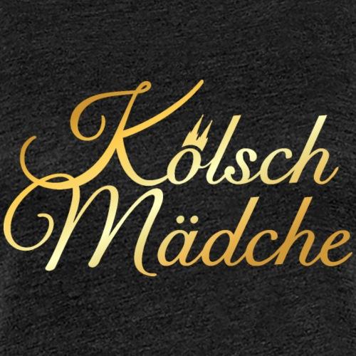 Kölsch Mädche mit Kölner Dom aus Köln