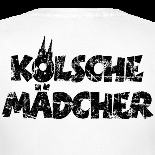 Kölsche Mädcher (Vintage Schwarz) Mädels aus Köln