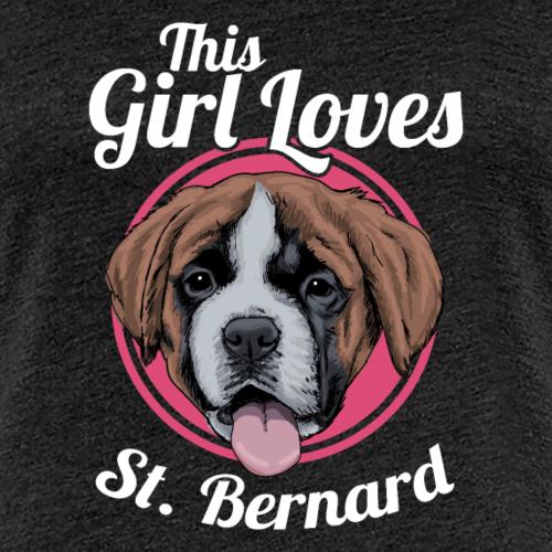 Chiot Saint-Bernard drôle