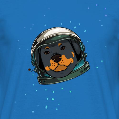 Casque de chien Rottweiler étoiles cadeau de l'espace