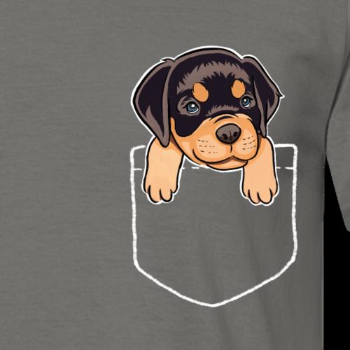 Cadeau de chien chiot poche poche poitrine poitrine rottweiler