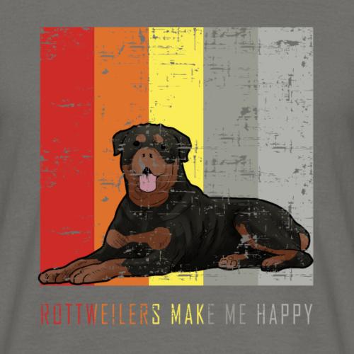 Rottweiler me rend heureux